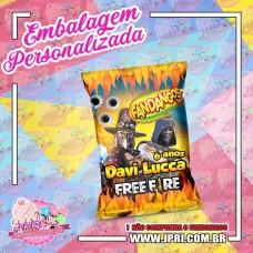 Embalagem Fandangos 22g - Free Fire