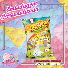 Embalagem Fandangos 22g - Fazendinha