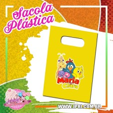 Sacola Plástica - Galinha Pintadinha