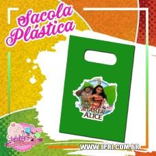 Sacola Plástica - Moana