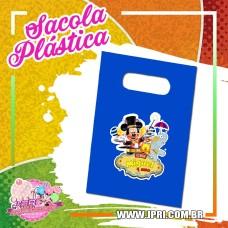 Sacola Plástica - Circo do Mickey